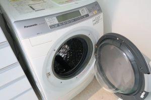 ドラム式洗濯機がこわれたー