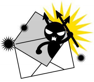 ウイルスメール 迷惑メール スパムメール