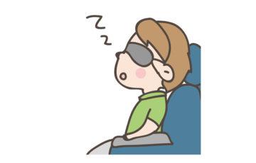 飛行機 乗客 居眠り