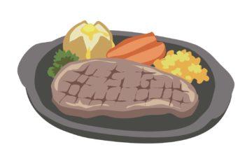 ステーキ ディナー