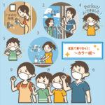 コロナ 感染 予防 家庭内感染